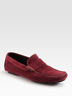 To Boot New York - Zach Suede Penny Loafers