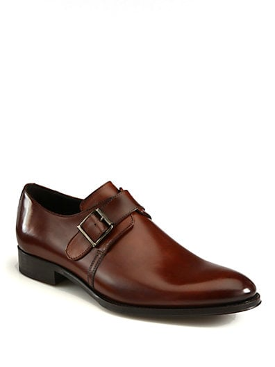 Campbell Single Monk-Strap Shoes