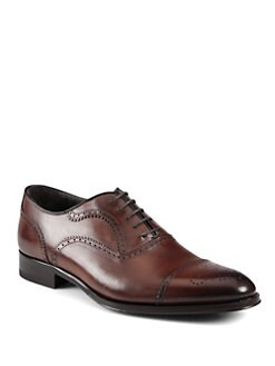 To Boot New York - Truman Captoe Perforated Lace-Ups