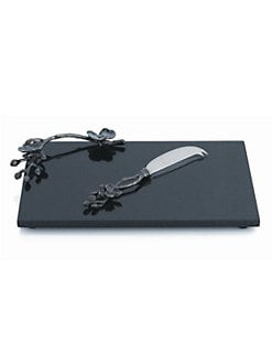 Michael Aram - Black Orchid Cheeseboard with Knife