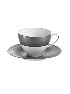 Michael Aram - Cast Iron Porcelain Saucer