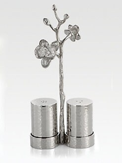 Michael Aram - White Orchid Salt & Pepper Shakers