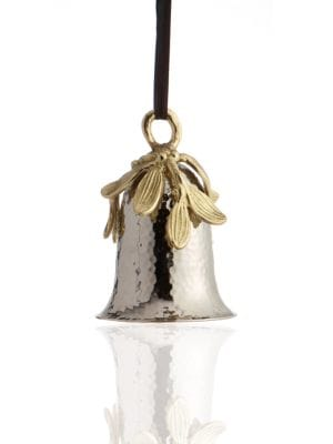 Mistletoe Bell Ornament
