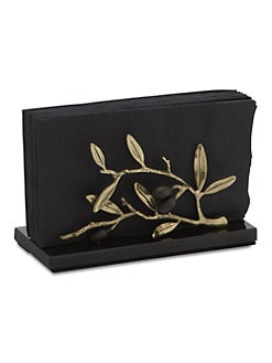 Michael Aram - Olive Branch Vertical Napkin Holder