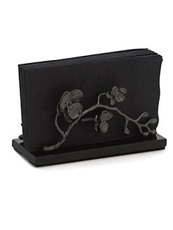 Michael Aram - Black Orchid Vertical Napkin Holder
