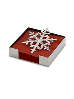 Michael Aram - Snowflake Cocktail Napkin Holder