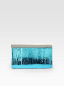 Jimmy Choo - Metallic Snake Clutch