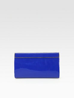 Jimmy Choo - Patent Leather Magnetic Clutch