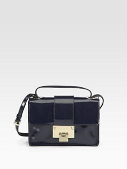 Jimmy Choo - Patent Leather Shoulder Bag