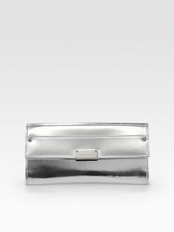 Jimmy Choo - Reese Mirror Leather Continental Wallet