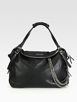 Jimmy Choo - Pebble Leather Biker Bag