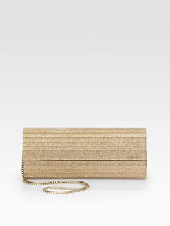 Jimmy Choo - Glitter Acrylic Clutch