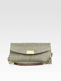 Jimmy Choo - Riane Lamé Wallet Clutch