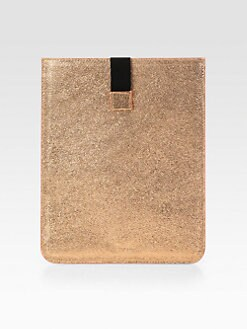 Jimmy Choo - Tyler Metallic Leather Sleeve For iPad 1, 2 & 3