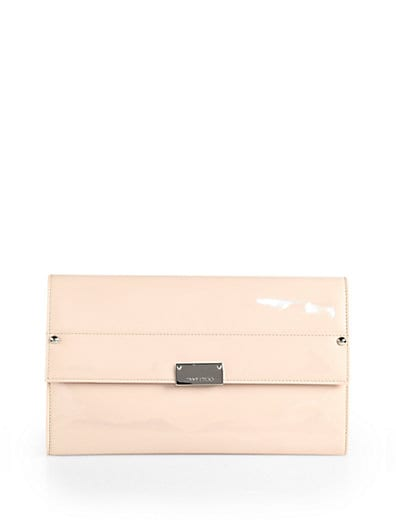Large Patent Leather Clutch