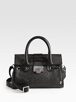 Jimmy Choo - Rosalie Small Studded Satchel