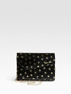 Jimmy Choo - Candy Star-Printed Acrylic Clutch