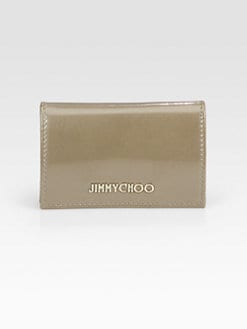 Jimmy Choo - Patent Leather Card Case