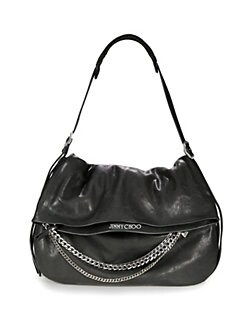 Jimmy Choo - Large Biker Shoulder Bag