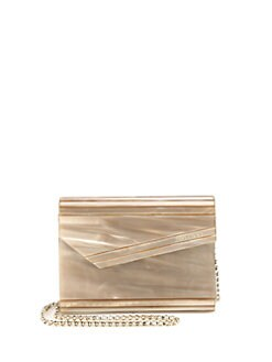 Jimmy Choo - Candy Petrol Acrylic Clutch