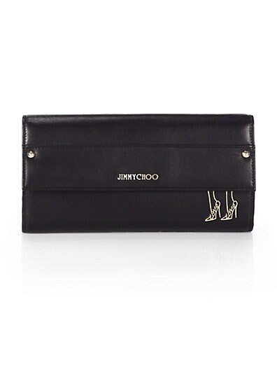 Reese Shoe-Print Continental Wallet