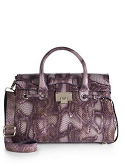 Jimmy Choo - Rosalie Python Satchel