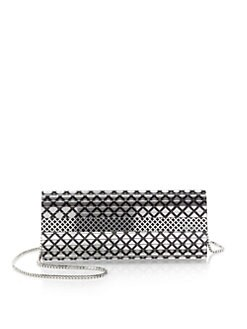 Jimmy Choo - Sweetie Printed Mirrored Clutch