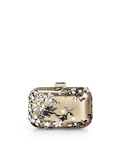 Jimmy Choo - Cloud Mixed Media Box Clutch