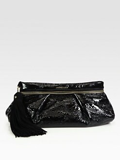 Jimmy Choo - Lulu Crush Patent Leather Clutch