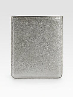 Jimmy Choo - Tyler Glitter Metallic Leather iPad Sleeve