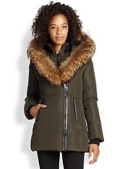 Mackage - Fur-Trim Adali Puffer Coat