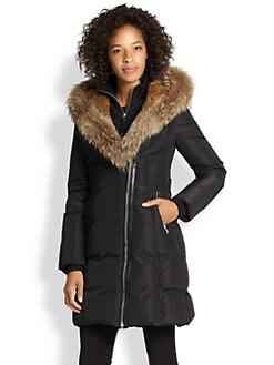 Mackage - Fur-Trim Trish Down Coat