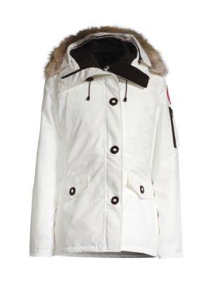 Montebello Fur-Trimmed Down Parka plus size,  plus size fashion plus size appare