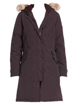 Fur-Trimmed Kensington Down Parka plus size,  plus size fashion plus size appare