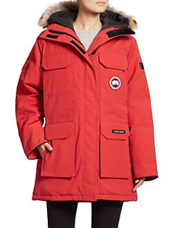 Canada Goose - Fur-Trimmed Down Expedition Parka
