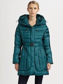 Cole Haan - Quilted Belted Jacket