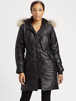 Canada Goose - Kensington Fur-Trimmed Parka
