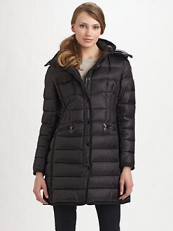 Moncler - Grosgrain-Trim Quilted Jacket