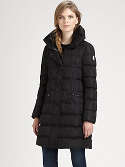 Moncler - Pillow-Collar Coat
