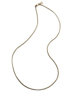Temple St. Clair - 18K Yellow Gold Ball Chain Necklace/18