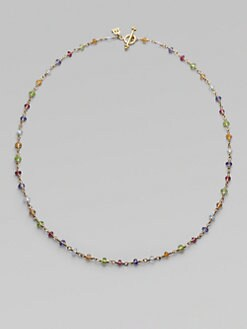 Temple St. Clair - Semi-Precious Multi-Stone & 18K Yellow Gold Necklace