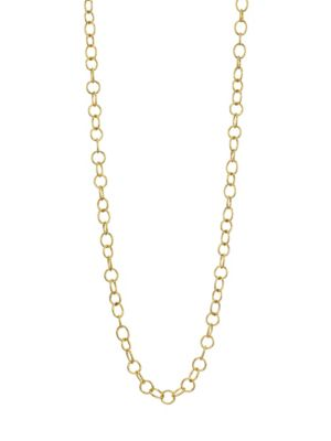 TEMPLE ST. CLAIR 18K Yellow Gold Arno Necklace Chain/32""