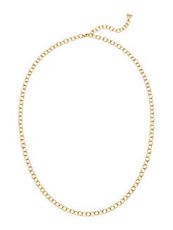 Temple St. Clair - Long 18K Gold Oval Link Chain