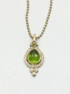 Temple St. Clair - Peridot & 18K Gold Pendant