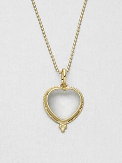 Temple St. Clair - Crystal 18K Gold Heart Enhancer