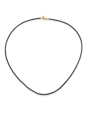 TEMPLE ST. CLAIR   Leather Cord Necklace   Goxip