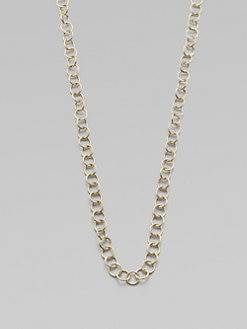 Temple St. Clair - 18K Gold Round Link Chain Necklace