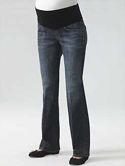 Citizens of Humanity Maternity - Dita  Petite Maternity Bootcut Jeans