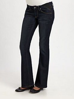 Paige Maternity - Union Laurel Canyon Petite Jeans