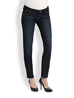 Paige Maternity - Skyline Ankle Peg Maternity Jeans
